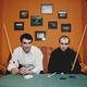 Аслан Бузоев и Василий Лазарев. Москва. БК «Кино». 2000 г.